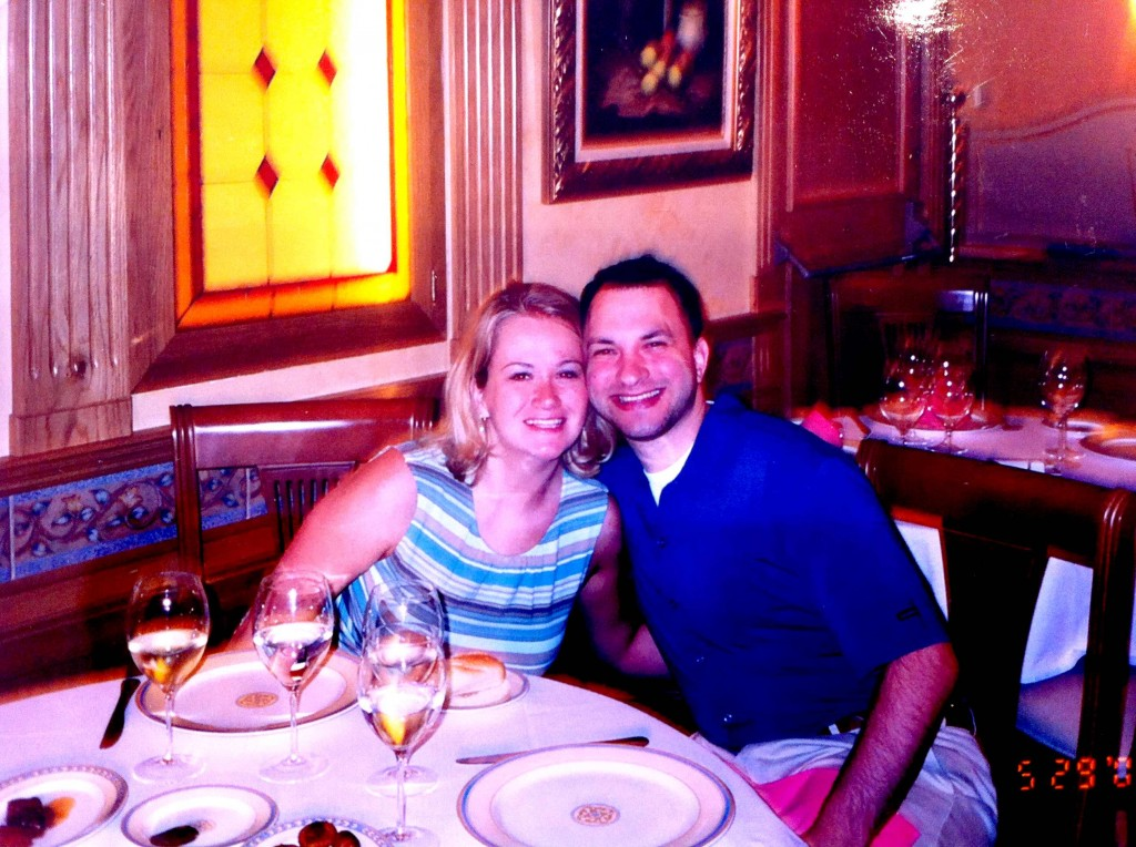 First ones to arrive (at 9 p.m.) at a restaurant in Madrid 2003